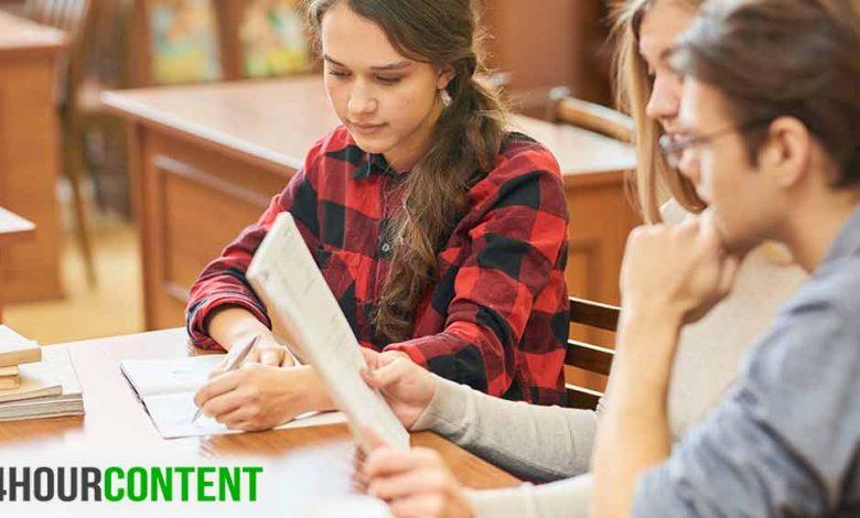 كيفية كتابة السيرة الذاتية لطلاب المدارس