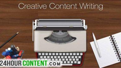 كتابة المحتوى الابدعى